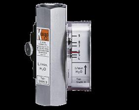 swk-2-durchfluss.png: Průtokoměr/spínač pro malá množství SWK-2