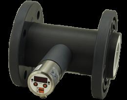 tur-2-c3-durchfluss.png: Turbinakerekes áramlásmérő - kompakt kivitel TUR-2..C3