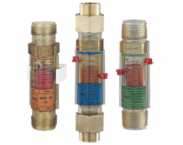 vkp-durchfluss.png: Viscosity Compensated Flowmeter / switch - Plastic VKP