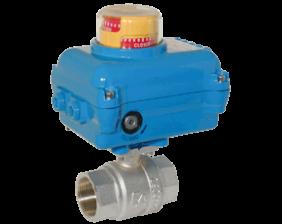z1-kua-ka.png: Brass Ball Valve with Electric Actuator KUA-KA