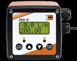 zed-d-zubehoer.png: Elektronický dávkovaè,poèítadlo ZED-D
