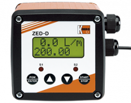 zed-d-zubehoer.png: Elektronický Davkovač ZED-D