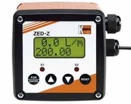 zed-z-zubehoer.png: Elektronický zobrazovaè ZED-Z